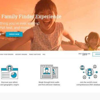 Genealogia genetyczna - FamilyFinder od FamilyTreeDNA