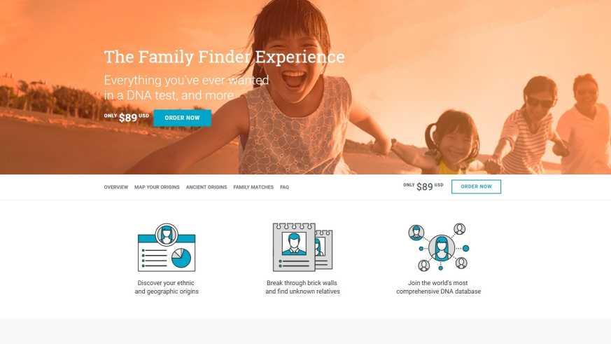 Genealogia genetyczna – FamilyFinder od FamilyTreeDNA