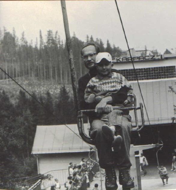 Z tatą wKarpaczu