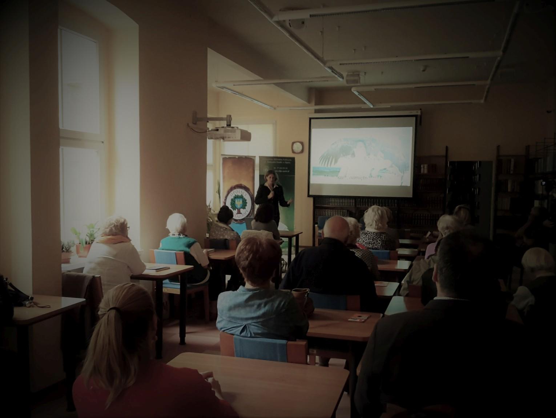 Relacja ze spotkania z Martą Czerwieniec-Ivasyk