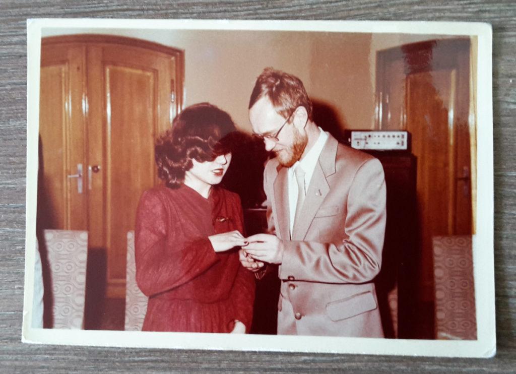 W dniu ślubu - Anna Żymańczyk iWojciech Małłek