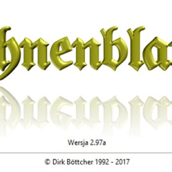 Programy genealogiczne - Ahnenblatt