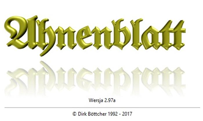 Programy genealogiczne – Ahnenblatt
