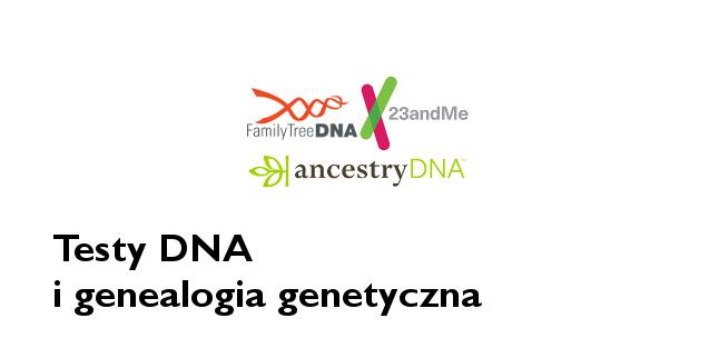 Testy DNA - genealogia genetyczna