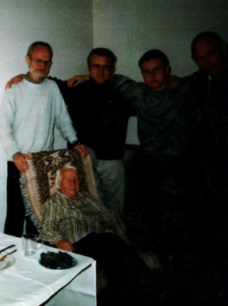Rodzina Małłek ostatnie zdjęcie razem