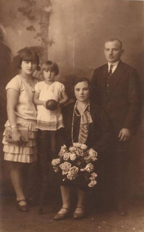 Józef Gołąb znową rodziną. Ta mała dziewczynka toJadwiga Gołąb