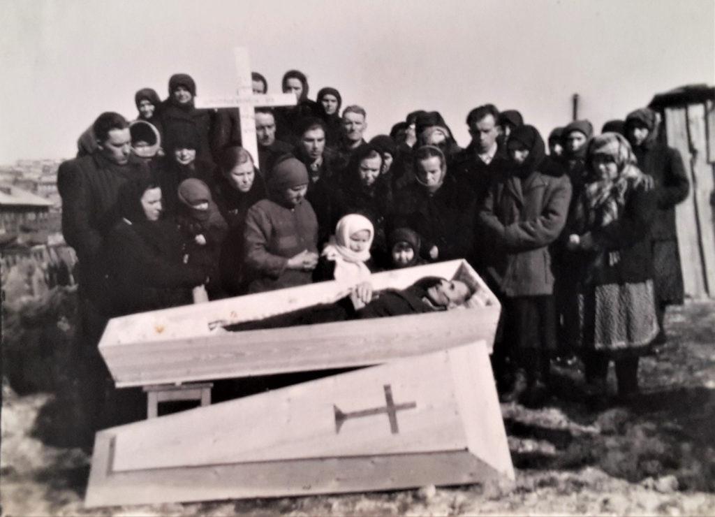 Pogrzeb prapradziadka Bazylego naSyberii