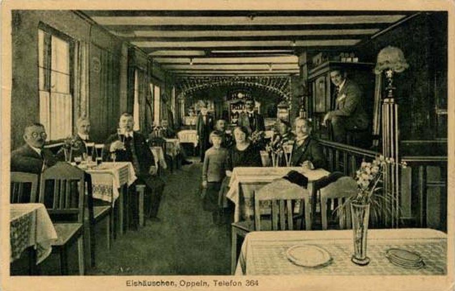 Lata 1920-1930 , Wnętrze Domku Lodowego. Fot. Fotopolska.eu