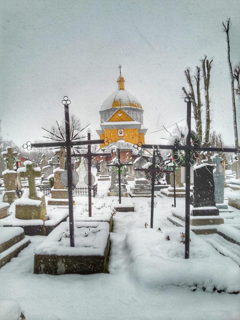 Cmentarz icerkiew wZarudcach.