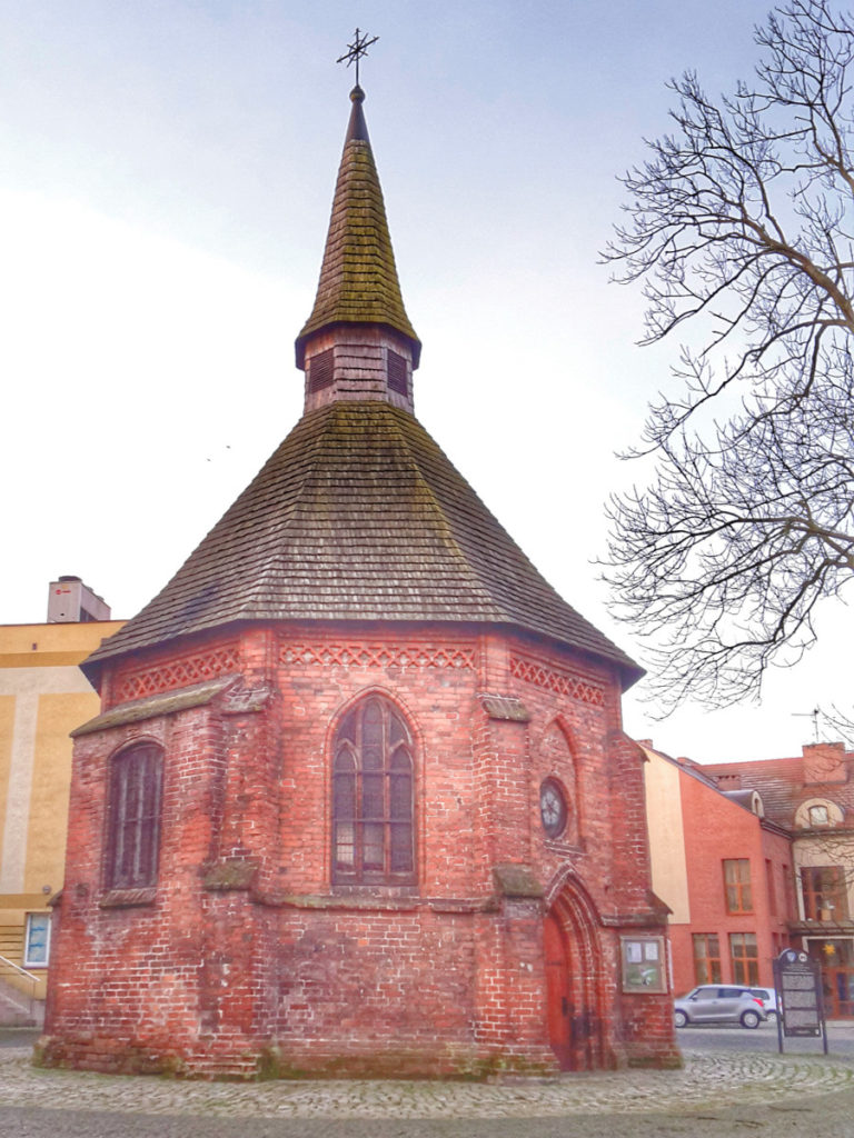 Kaplica św.Gertrudy wKoszalinie