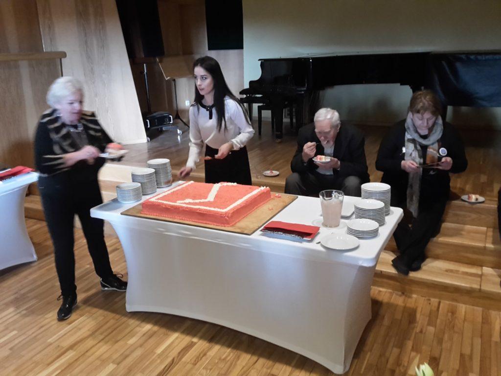 Był także tort wkształcie Rodła.