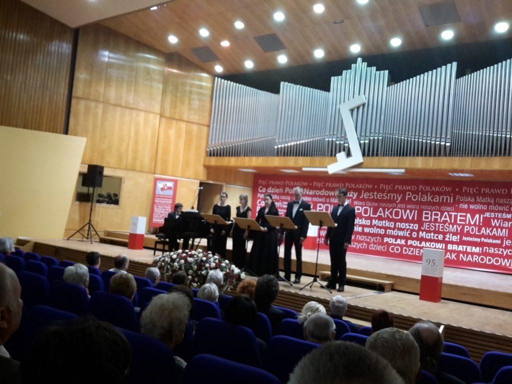Koncert zokazji 95-lecia utworzenia IDzielnicy Związku Polaków wNiemczech