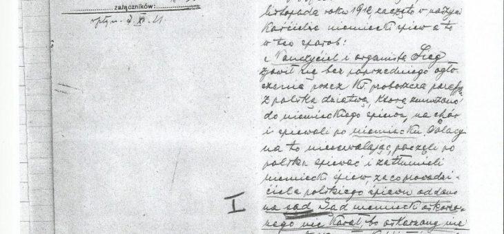 Oskardze parafian zSypniewa naproboszcza