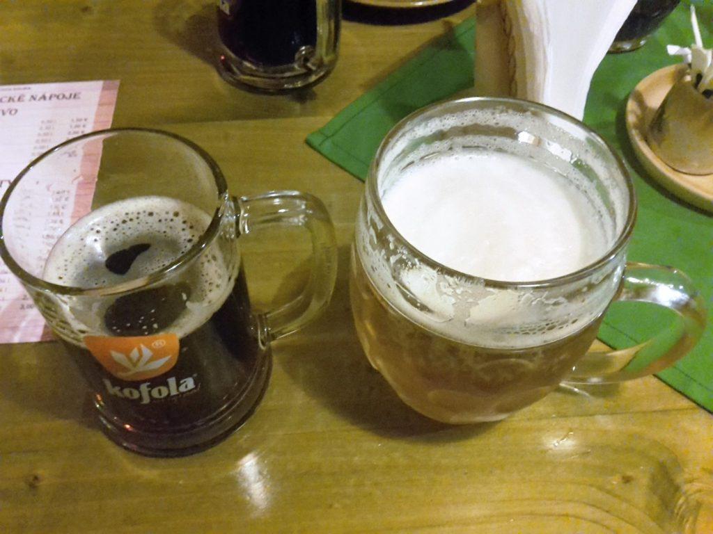 Idealne połączenie Kofola iczeskie piwo - Bernard