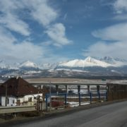 Tatry słowackie izatoczone koło