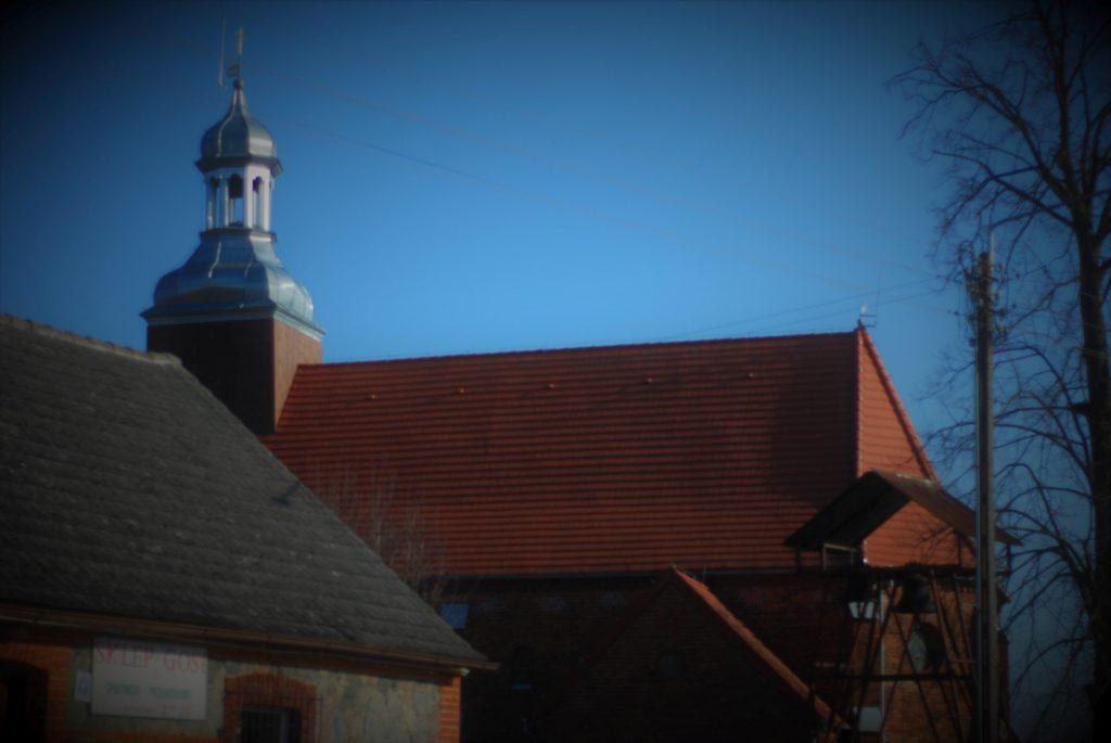 Kościół wDźwiersznie Wielkim pw.św.Mikołaja zbudowany w1869 roku