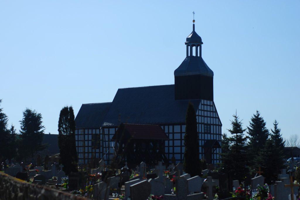 Kościół św.Jakuba Apostoła wSławianowie z1806 roku