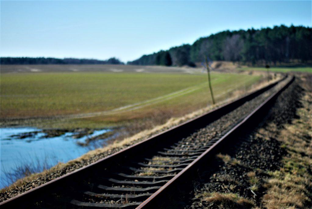 Prawie jak linia kolejowa przezprerię
