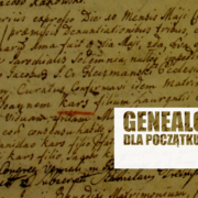 YOUTUBE: GENEALOGIA DLA POCZĄTKUJĄCYCH CZ.2